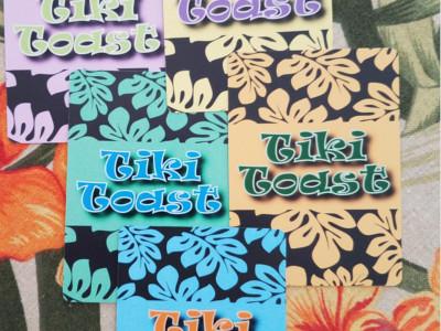 ImprovThis! Tiki Toast Cards